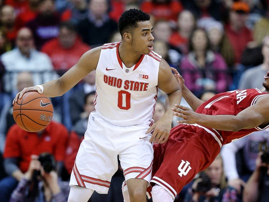 D'Angelo Russell (left) was this year's Big Ten Freshman of the Year.