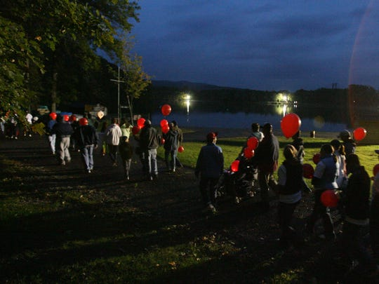 The Light the Night Walk is Saturday.