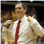 Iowa State coach Steve Prohm, left, once lived in the basement of Texas A&M coach Billy Kennedy, right.