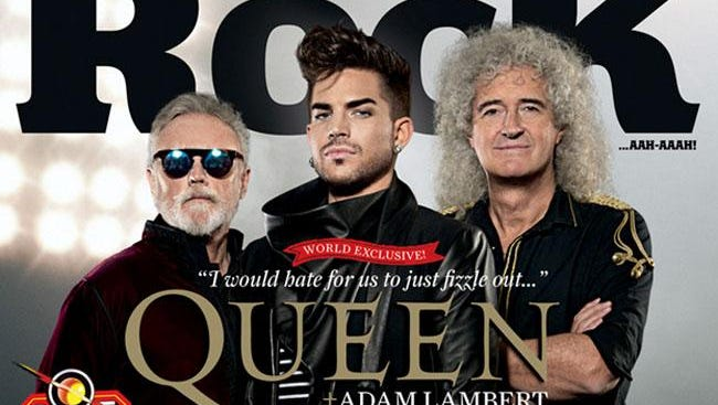 Queen and Adam Lambert on Classic Rock magazine