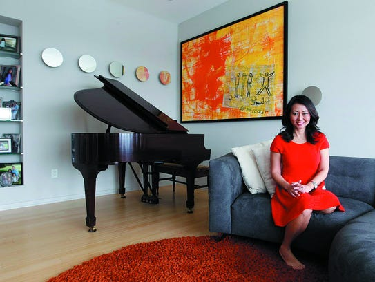 Susan Kim, WTMJ-TV morning anchor,  loves her home