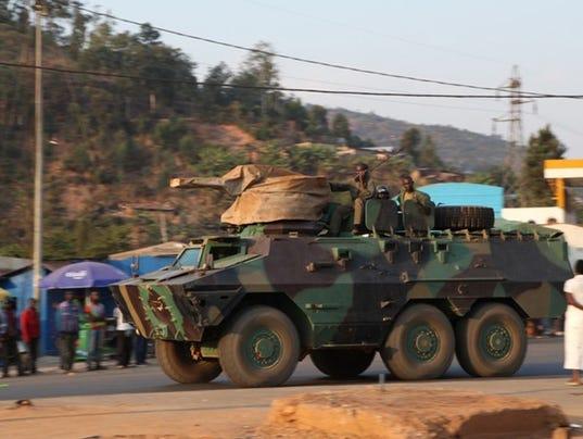 Rwanda Congo Fighting
