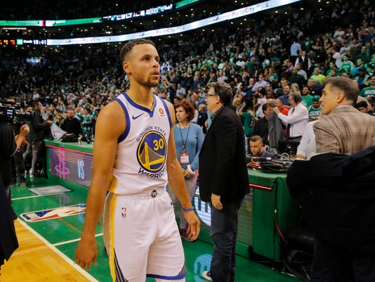 Warriors stephen curry very likely to meet celtics in finals nba golden state warriors at boston celtics golden state warriors guard stephen curry m4hsunfo