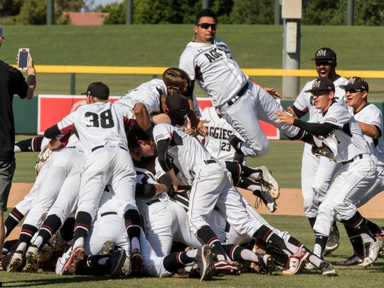New Mexico State beat Sacramento State 4-3 for the