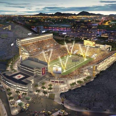 The reinvented Sun Devil Stadium preserves the history