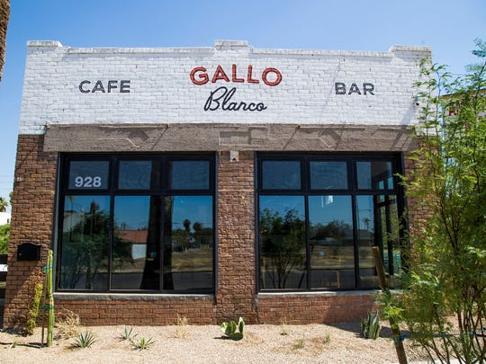 In 2017, chef Doug Robson brought back his popular contemporary Mexican restaurant that was once located at the Clarendon Hotel. The new Gallo Blanco is housed in a renovated historic building near downtown Phoenix.