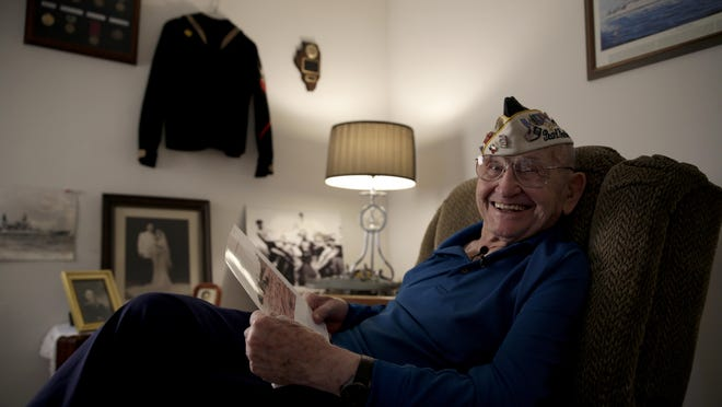 """Chet Jankowski is one of about 2,000 Pearl Harbor survivors still alive. In the Navy he, Bert Jacobson, O.C. McDonald, and Henry Ford II, grandson of the car magnate, formed a group called """"The Four Musketeers."""""""