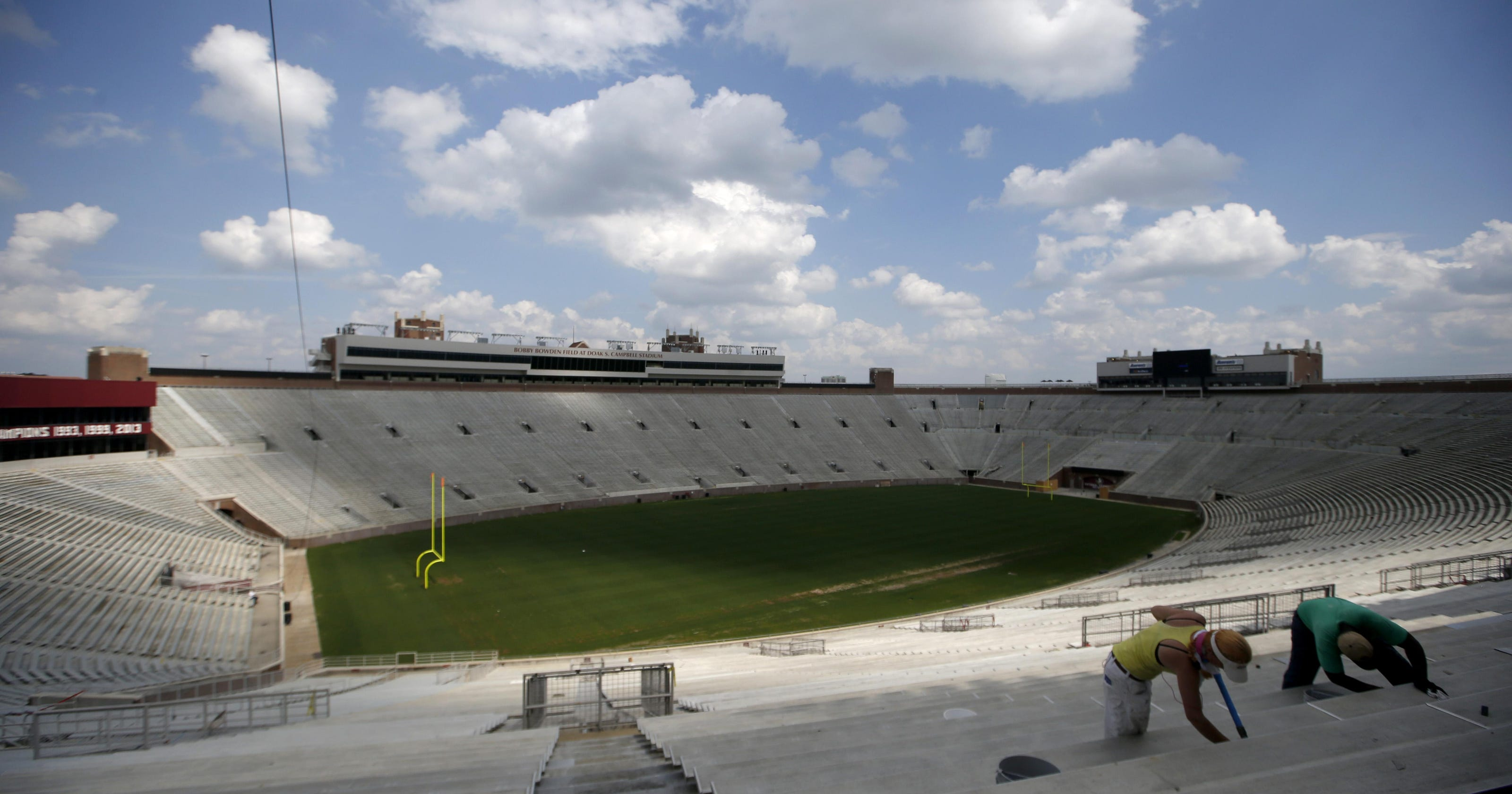 FSU's 2016 spring game will not be held inside Doak Campbell