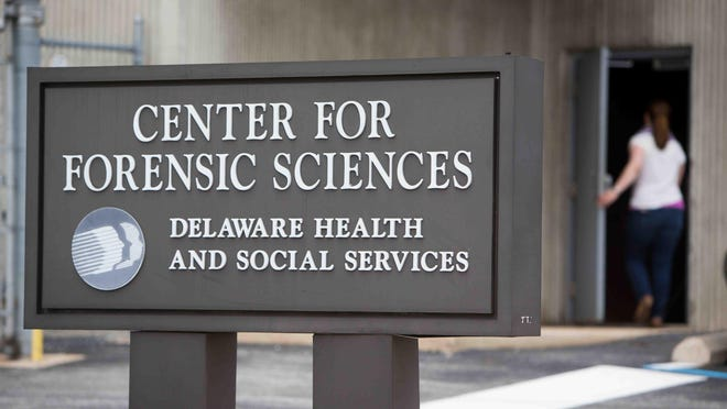 Drug lab duties have been assigned to the newly created Delaware Division of Forensic Science under the Department of Safety and Homeland Security, located in a building on South Adams Street in Wilmington.