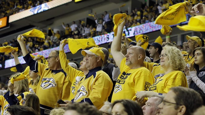 The Predators set a franchise record with 30 sellouts at Bridgestone Arena last season.