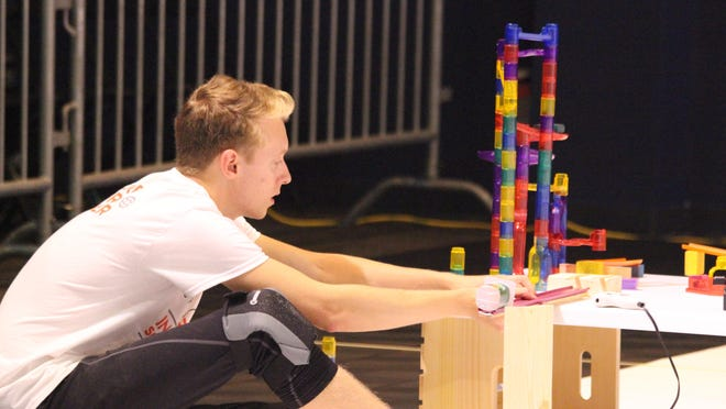 Steve Price of Canton and a team he assembled hope to break the world record for Rube Goldberg machines.