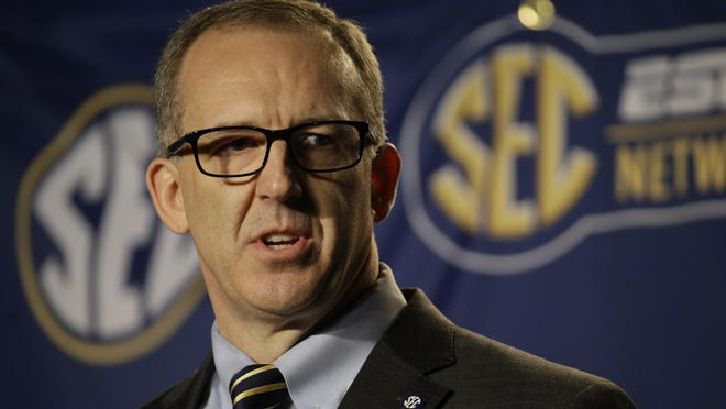 Greg Sankey is the new SEC commissioner.