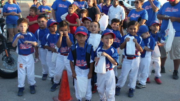 Little Rascals enjoy traditional postgame snack bags!