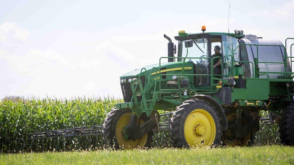 More than 300 acres of farmland in Magnolia, never Dover, will be auctioned next month.