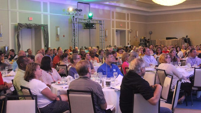 An estimated 500 attendees are expected at this year's Tallahassee Chamber of Commerce Retreat.