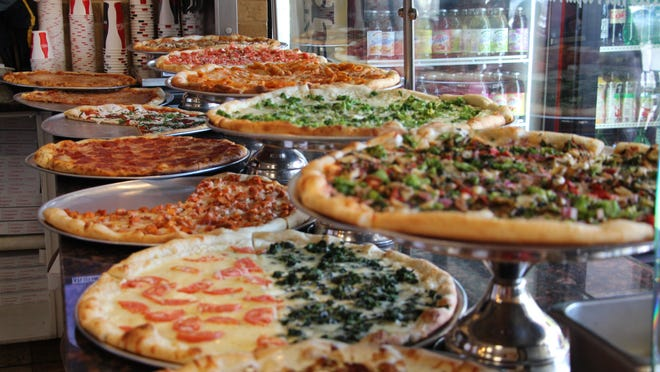 Tabor Pizza in Morris Plains offers cheese and 14 other types of pizza, plus special-order pies.