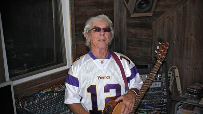 """Singer/songwriter John Kurkosky is doing his part to rally the legions of Purple and Gold fans. The Annandale resident recently released a song called """"Let's Play Football, Minnesota Vikings."""""""