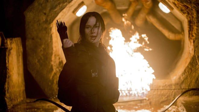 "Jennifer Lawrence stars in ""The Hunger Games: Mockingjay - Part 2."""