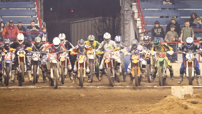 The Ultimate Indoor Enduro X returns to the fairgrounds on Friday night.