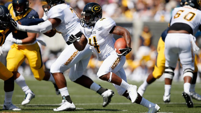 Grambling State's Martez Carter had at least three carries for over 10 yards in Saturday's spring game.