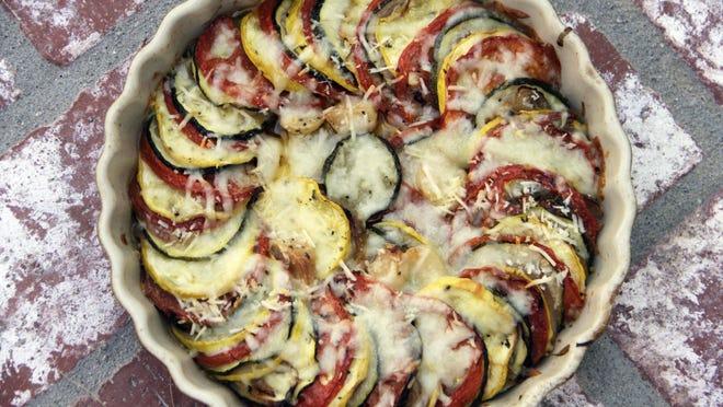 Italian squash bake is an easy, made-ahead side dish.