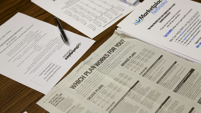 Forms show the options available through the Affordable Care Act.