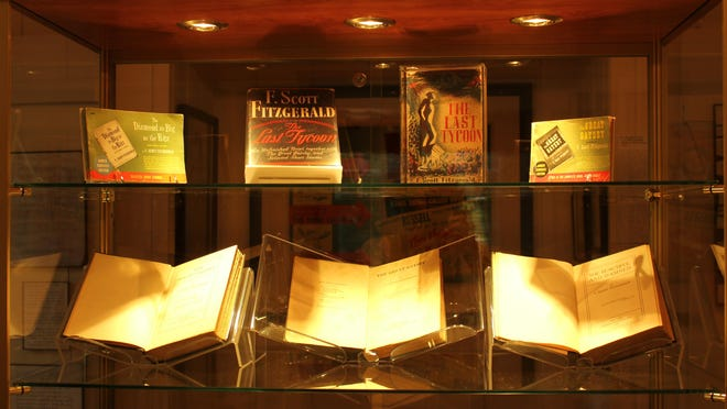 The Scott and Zelda Fitzgerald Museum is one of the recipients of the Alabama Humanities Recovery Grants. The museum includes displays of F. Scott Fitzgerald's popular books.