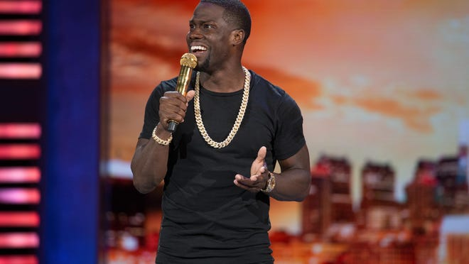"""Kevin Hart: What Now?,"" follows the star's 2013 concert movie ""Let Me Explain."""