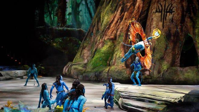 "Cirque du Soliel's ""Toruk"" comes to the Save Mart Center Oct. 27-30."