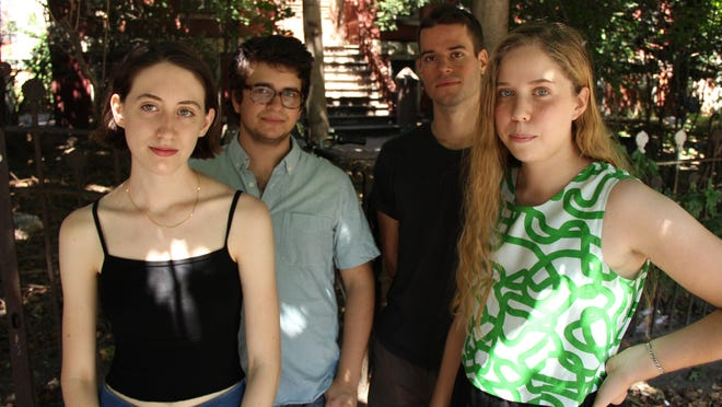 Frankie Cosmos' new album includes a bunch of brief songs, many clocking in less than two minutes.