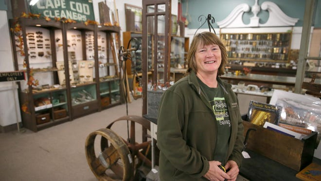 Owner Sally Kamprath at ReHouse Architectural Salvage at 469 West Ridge Road in Rochester Wednesday, Oct. 25, 2016.