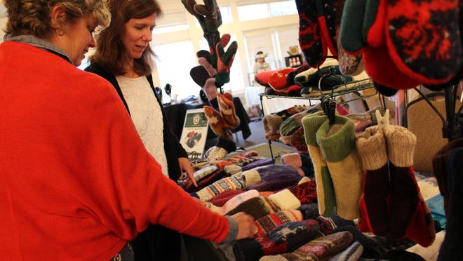 Handmade Second Season Mittens were popular at the 2015 Holiday Boutique and will be returning for this year's event, which is being held today at the Mountain Lakes Club. Event proceeds fund the Town Club's Grants Program which benefits Morris County education, charity and service organizations.