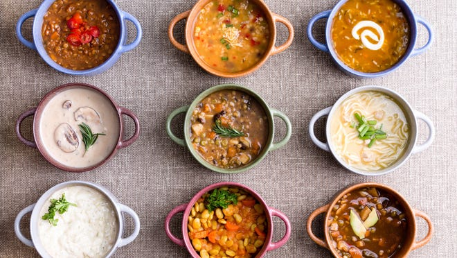 Local chefs will bring their best soups to the Rotary Clubs of Hunterdon County's cook-off.
