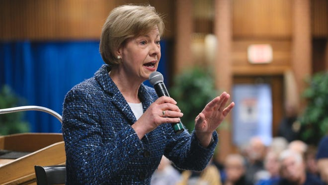 Democratic U.S. Sen. Tammy Baldwin.