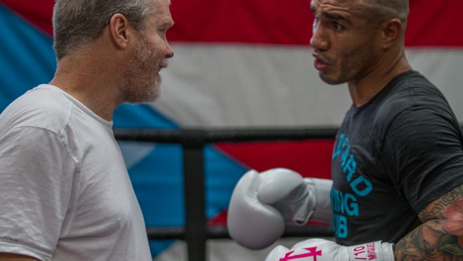 Cotto and Roach are together for a fourth consecutive training camp. (Hector Santos Guia/Roc Nation Sports/Miguel Cotto Promotions)