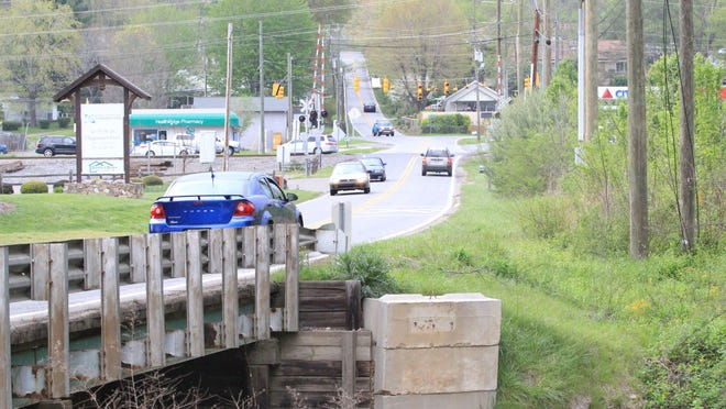 The Blue Ridge Road-U.S. 70 intersection sees lots of traffic and is likely to see more in the future, town administrators believe.