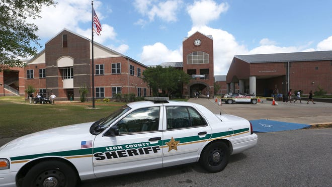 The Leon County Sheriff's Office dispatched extra deputies to Chiles High School on Wednesday morning after an anonymous threat was posted on social media.