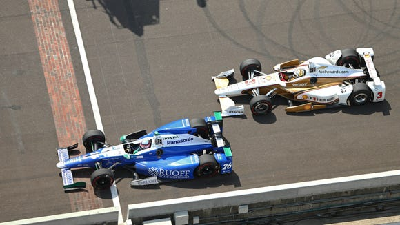 USP INDYCAR: 101ST RUNNING OF THE INDIANAPOLIS 500 S CAR USA IN