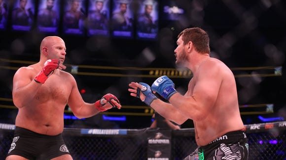 USP MMA: BELLATOR NYC-EMELIANENKO VS MITRIONE S OTH USA NY