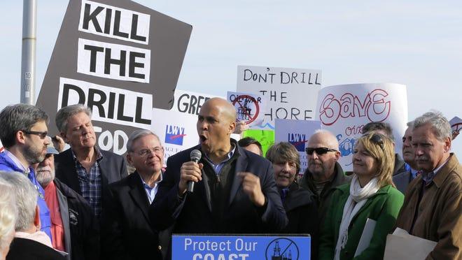 U.S. Senator Cory Booker and U.S. Senator Bob Menendez, introduced legislation to ban seismic testing in the Atlantic.