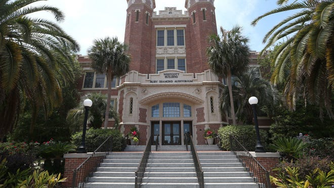 The Westcott Building on Florida State University's campus.