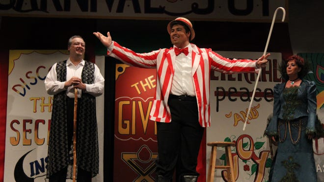 "It's the final weekend for ""The Barkerman"" at Stained Glass Theatre in Ozark."