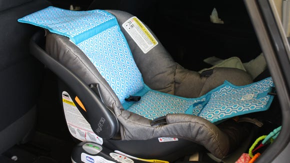 Cooltech Car Seat Cooler. It's like an ice pack for a car seat. Credit: Jennifer McClellan