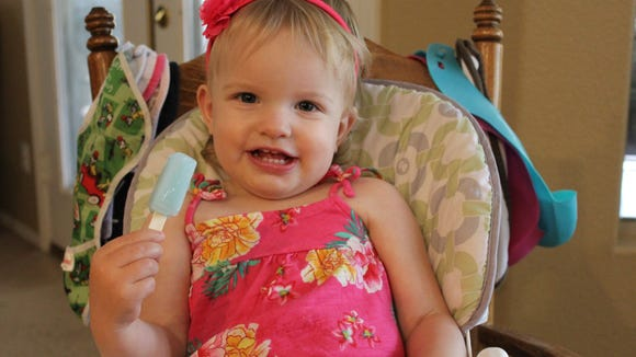 Popsicle Minis are smaller than regular popsicles and perfect for infants and young children. Credit: Jennifer McClellan