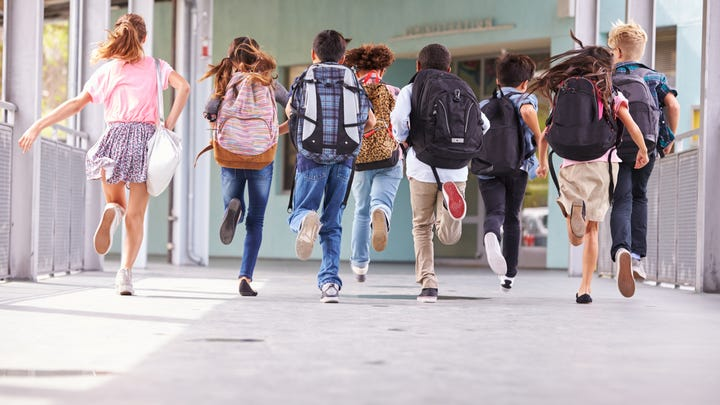 Could your kids' heavy backpacks lead to early arthritis?