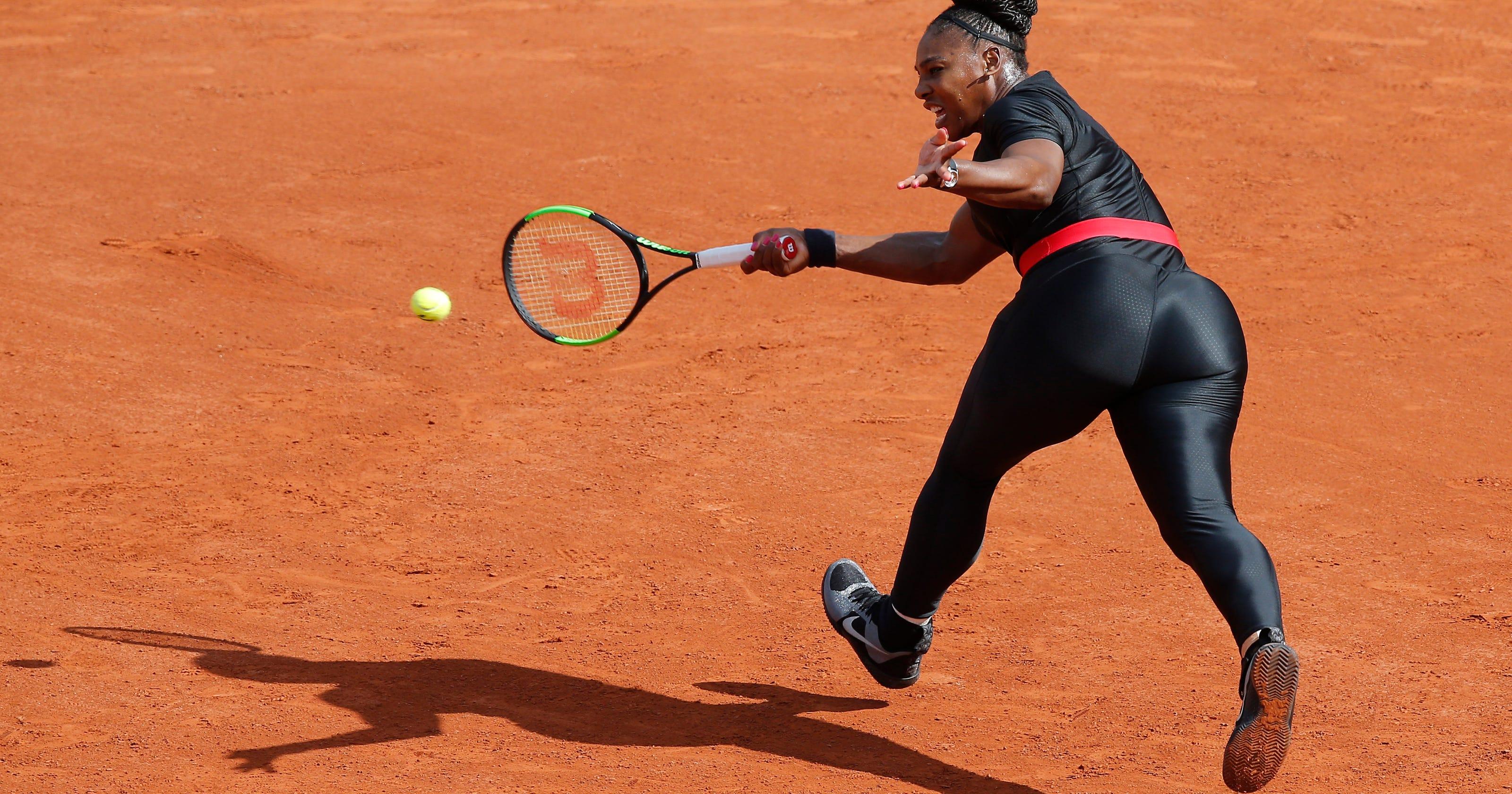 French Open won t let Serena Williams wear black catsuit 3e8108f6e