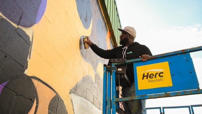 PAINTING THE TOWN: The Street Art of Detroit, directed by William Higbie, will be shown on Nov. 2.