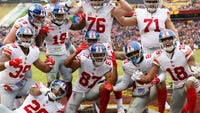One possible playoff path for NY Giants starts with three wins in their final three games and seven different preferred outcomes by four other teams