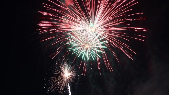 Pyrotechnics will be on display again this year at the Pratt County Veterans Memorial Lake east of Pratt for the Fourth of July holiday.