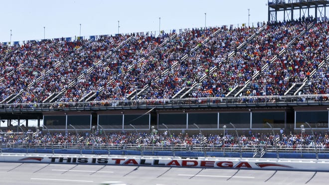 Up to 5,000 fans will be allowed to be in attendance for the NASCAR race at Talladega.